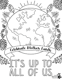 Hands Earth Day Coloring Pages (Page 1) - Line.17QQ.com
