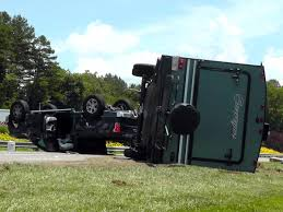 Truck, camper roll over in I-40 accident | News | mcdowellnews.com
