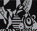 Схемы вышивок скачать бесплатно черно-белая
