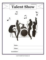 talent show flyer template free flyer templates for talent show png ianswer