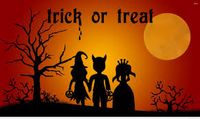 Image result for trick or treat halloween spooky images