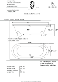 standard hot tub cover dimensions widths the width bathtub w standard tub plumbing dimensions corner bathtub