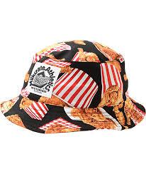 fried chicken bucket hat. Modren Fried Milkcrate Fried Bucket Hat With Chicken Zumiez