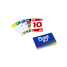 How many cards do you get in phase 10? Phase 10 Mattel Games