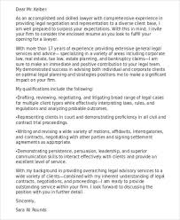 9 Legal Cover Letter Free Word Pdf Format Download