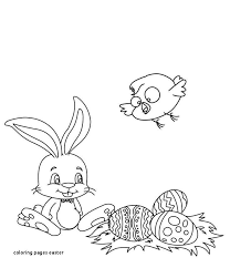 Bunny Coloring Pages Printable Luxury Coloring Pages Easter The Kids