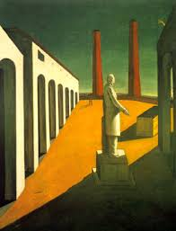 the real functioning of the mind surrealism  de chirico the enigma of a day