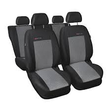 image is loading une 2 black gray car seat covers set