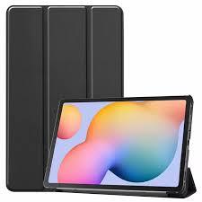 Ốp 2020 Hộp SM-P610 Cho Samsung Galaxy Tab S6 Lite 10.4 Bao Da PU Gập Ba  Chân Vỏ Máy Tính Bảng Chống Sốc