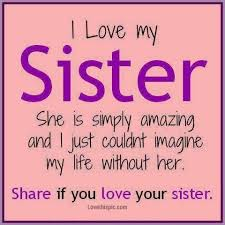 Quotes About Loving Your Brother I love my sister quotes from brother Sweet Love text messages love 57