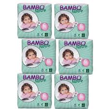 Bambo Nature Baby Diapers Classic Size 6 35 66 Lbs 132