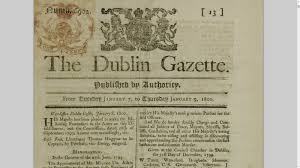 Victorian Era Newspaper Template Spreading The News The Changing Face Of Newspapers Irelands Own