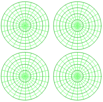 Polar Graph Paper Free Polar With Degrees Graph Paper With Polar