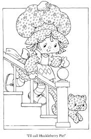 311 Best Coloring Pages Strawberry Shortcake Images On Pinterest