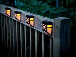 deck accent lighting. Solar Deck Accent Lights Lighting