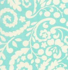 dena fishbein designs fleur in aqua from the mckenzie collection for free spirit