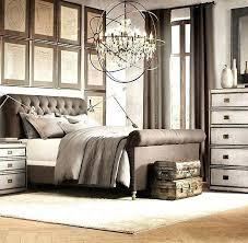 Upholstered Sleigh Bed Headboard Tufted Sleigh Headboard