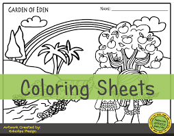 See also these coloring pages below: Garden Of Eden Storytime Activities For Preschool