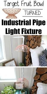 kitchen table light fixtures bowl. DIY Industrial Pipe Light Fixture Kitchen Table Fixtures Bowl I