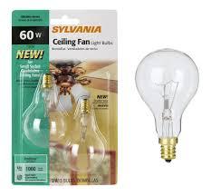 small base light bulb for ceiling fan
