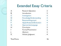 abstract criteria for extended essay the abstract and how to write one st andrews college library