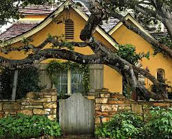 carmel valley cabins new carmel by the sea cottage gate garden glamour stock