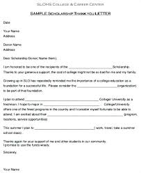 Thank You Scholarship Letter Template – Custosathletics.co