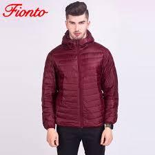 2018 2017 winter jacket men white duck down autumn warm winter coat men ultralight hooded jacket casual male windproof parka a902 1 from genguo