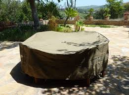garden furniture covers round relisco patio set cover with umbrella hole