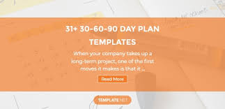 37 30 60 90 Day Plan Templates Word Pages Pdf Google