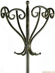 Wrought Iron Coat Rack Stand Simple Antique Standing Coat Rack Tour Detail Of The Wroughtiron Coat
