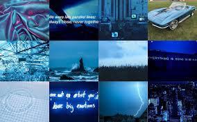 Blue Aesthetic Wallpaper Laptop HD ...
