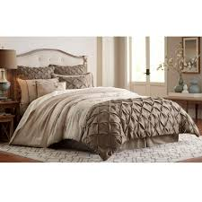 Taupe Bedroom Attractive Taupe Bedding Queen Comforter Set Wedgwood Damask