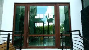 impact glass sliding door pivot doors hurricane repair x s proof cost