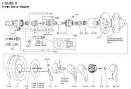 enchanting moen shower valve parts in faucet repair