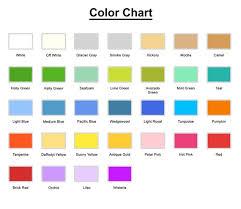 Scrub Color Chart