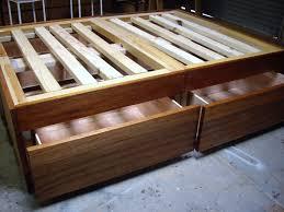 frame diy queen size storage bed divine