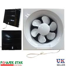 powerful low noise reverseable bathroom kitchen ventilation extractor exhaust blower pull cord fans 8 200mm 10 250mm
