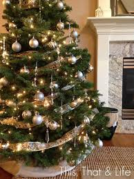 Enchanting Christmas Trees Decorated In Gold And Silver 23 On Simple Design  Decor with Christmas Trees Decorated In Gold And Silver