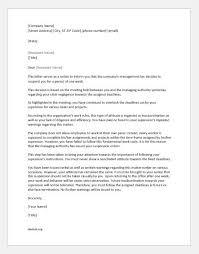 Suspension Letters For Insubordination Document Hub