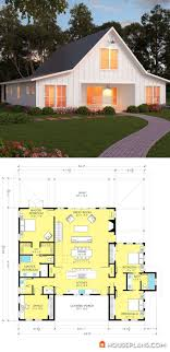 Barn house plan Love this one