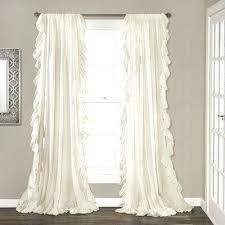 white ruffled curtains shabby chic ruffle curtain panels ruffle chic  bedroom curtains online nz