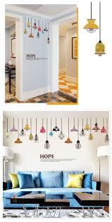 removable art vinyl e diy chandelier wall sticker decal mural room decor intl
