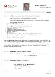 Site Manager Resume Click Here To Download This Project Manager ...