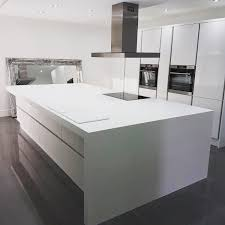 Corian Designer White Thickness One Of The Biggest Islands Ever To Leave The Workshop 80mm