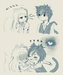 anime chibi cat couples. Interesting Couples Discover Ideas About Anime Chibi And Cat Couples