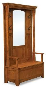 furniture for the foyer. amish hampton hall seat bench furniture for the foyer
