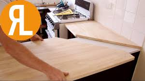 how to install a countertop without removing the old one