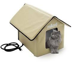 Milliard Portable Heated Outdoor Pet House Dog House 56x45x43cm
