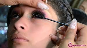 beauty expert claudia chiu s pink glitter quinceañera makeup tutorial